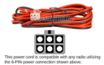 6 pin power cord